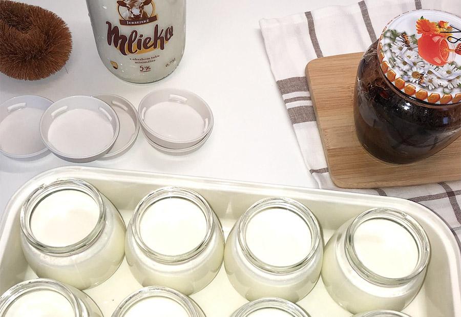 Recept na domáci jogurt